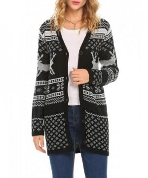 Unibelle Reindeer Sweater Cardigan Chrismas