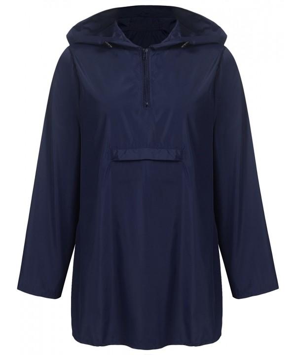 Unibelle Waterproof Raincoat Lightweight Windbreaker