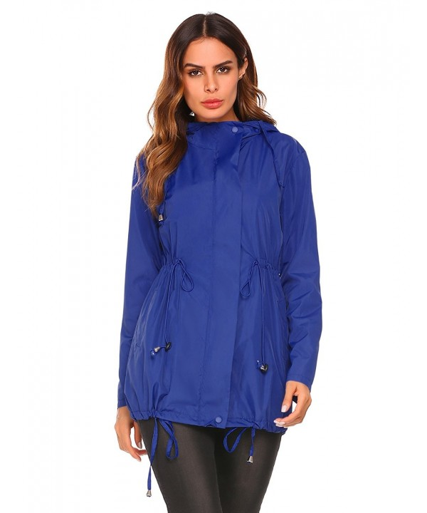 Hersife Lightweight Packable Raincoats Windbreaker