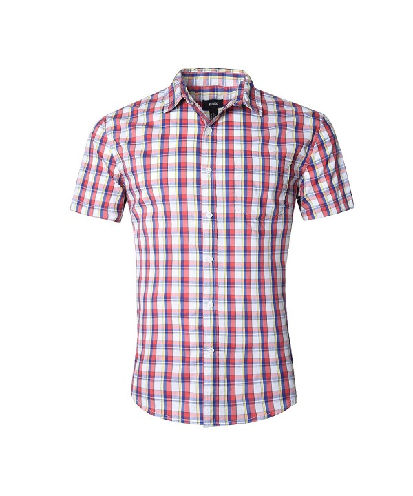 NUTEXROL Casual Cotton Sleeve Shirts