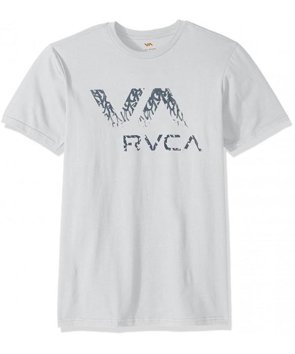 RVCA Mens Ancell White Medium