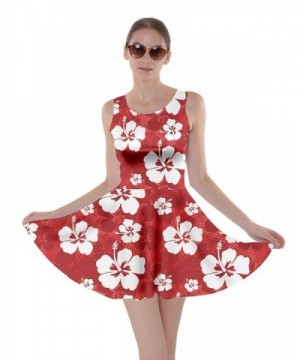 CowCow Pattern Hibiscus Flowers Skater