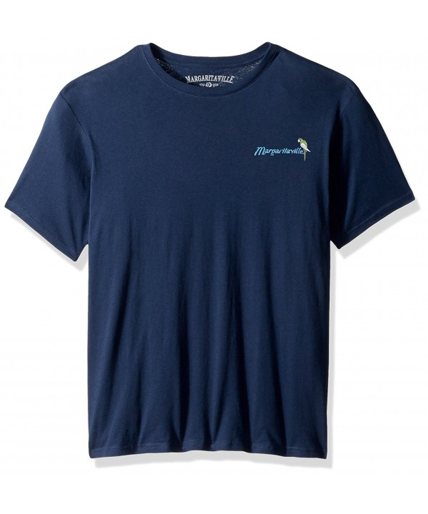 Margaritaville Mens Short Sleeve Midnight