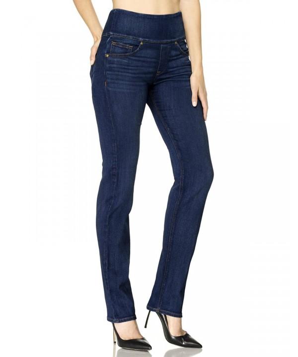 Spanx Signature Straight Jeans Blue
