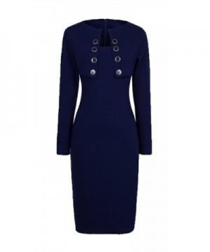 HOMEYEE Womens Fashion Sleeve Bodycon