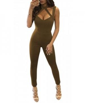 Luluka Womens Jumpsuits Rompers Clubwear