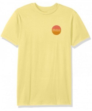 RVCA Glitch Motors Bright Lemon