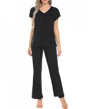 Ekouaer Sleepwear Womens Cotton Loungewear
