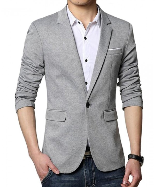 Benibos Premium Casual Button Grey