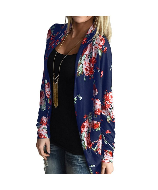 EverChic Womens Floral Lightweight Cardigan