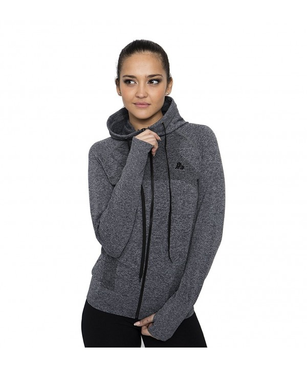 B BANG Womens Absolute Workout Full Zip