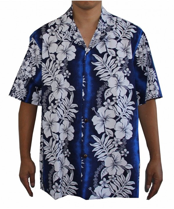 Panel Floral Hawaiian Aloha Shirt