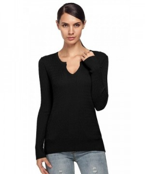 ANGVNS Womens Casual Pullover Sweater
