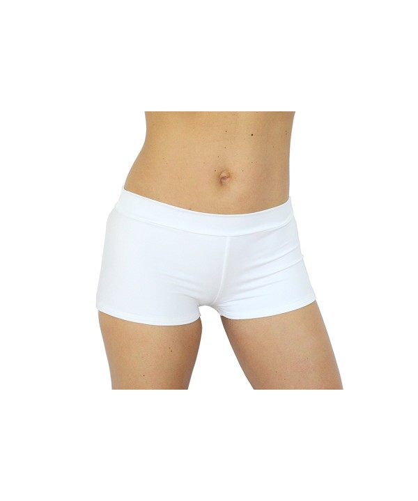 UjENA Active Sporty White Shorts