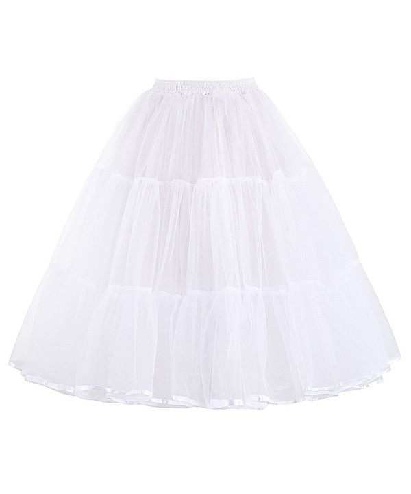 Vintage Swing Fluffy Petticoat Length