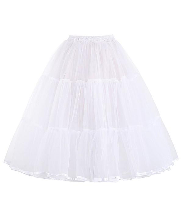 Vintage Swing Fluffy Petticoat Length