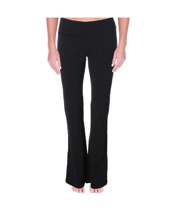 Mopas Womens Solid Fitness Pants