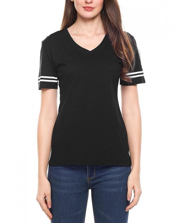 Zeagoo Womens Casual Sleeve T Shirt