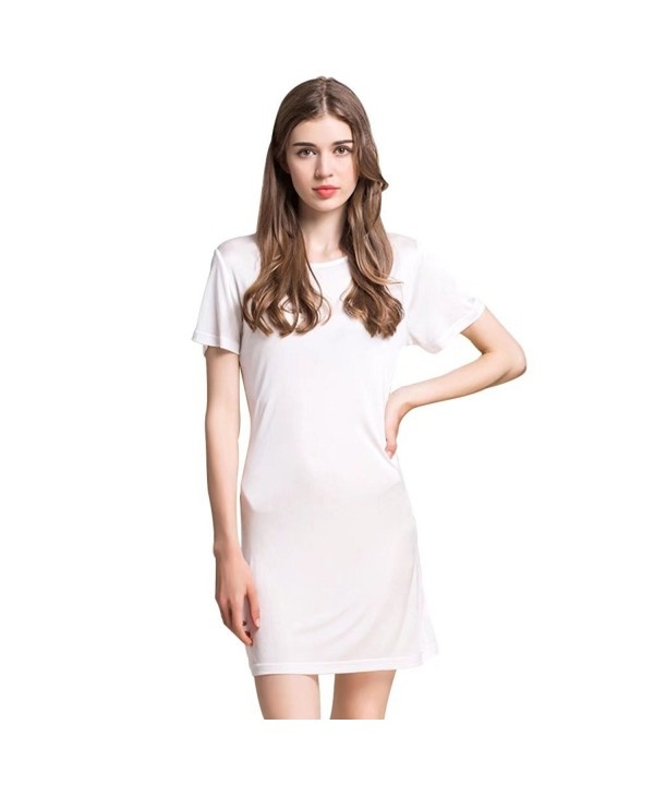 Zylioo Mulberry Nightgown Sleeve Sleepwear