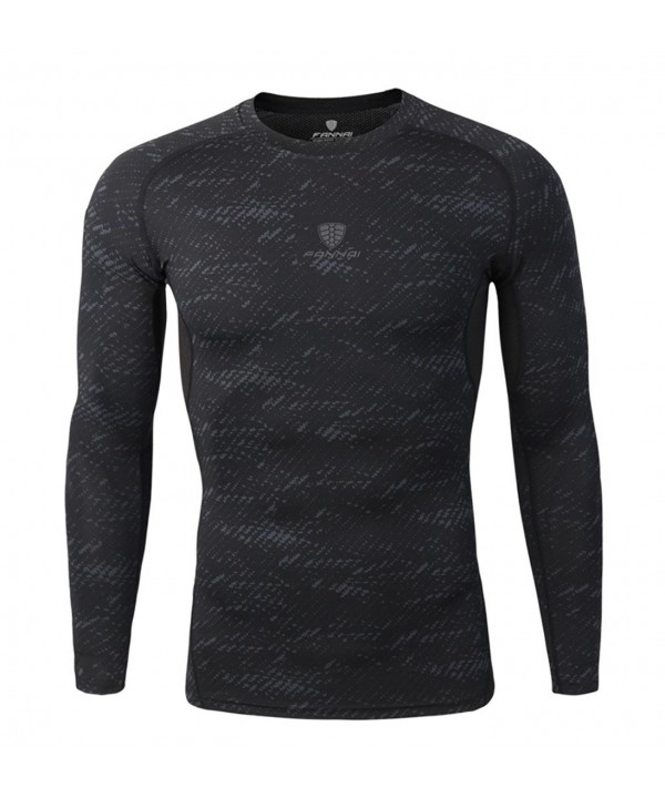 Compression Shirts Sleeves Activewear Baselayer