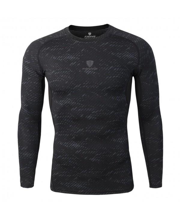 Compression Shirts Sleeves Activewear Baselayer