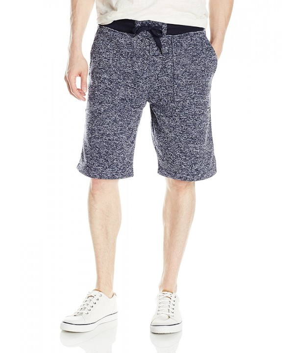 Southpole Basic Marled Fleece Shorts