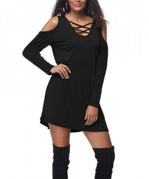 Bauihr Womens Sleeve V Neck T Shirt