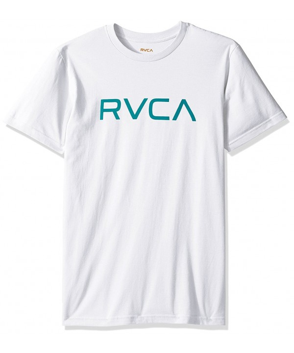 RVCA Mens Big Standard White
