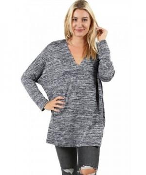 Womens Regular Casual Pullover 91_NAVY