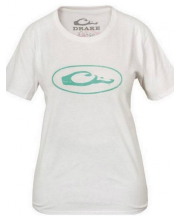 DRAKE WATERFOWL LADIES OVAL LOGO