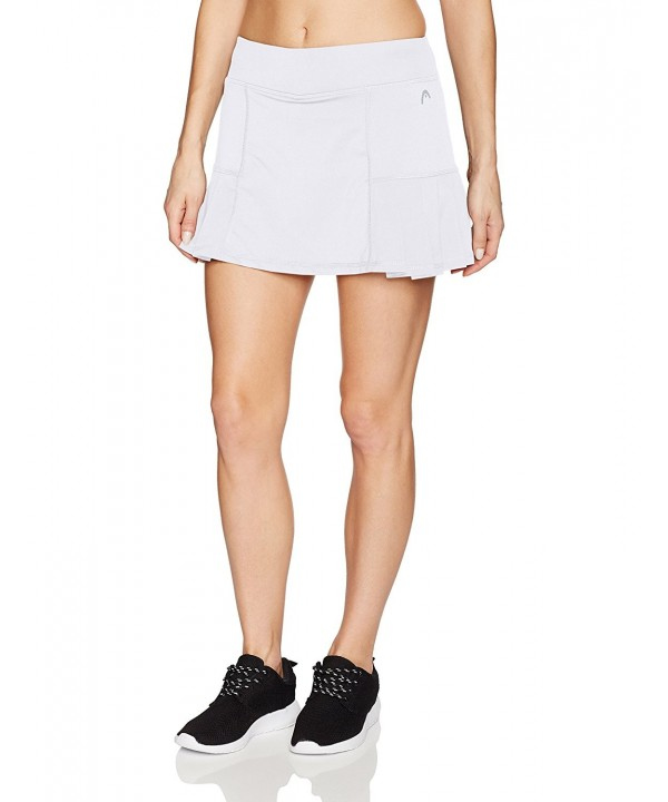 HEAD Womens Pleated Skort Stark