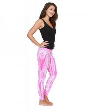 Colortone Tie Leggings Twist Pink