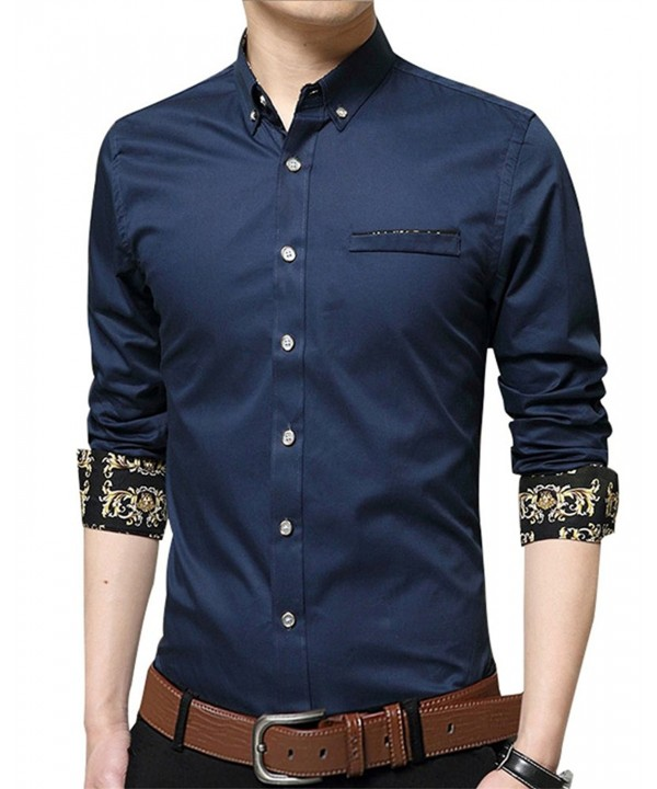 Casual Sleeve Printed Button Shirts