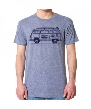 GarageProject101 Surf T Shirt Athletic Gray
