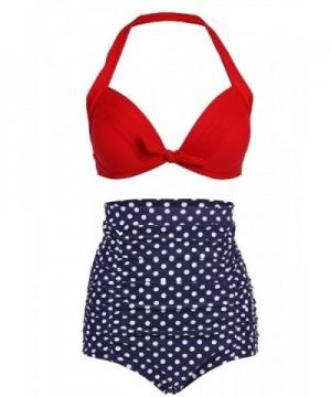 Cuteplus Retro Vintage Bikini SwimSuit