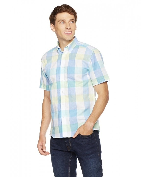 Clifton Heritage Short Sleeve Button Down 3X Large