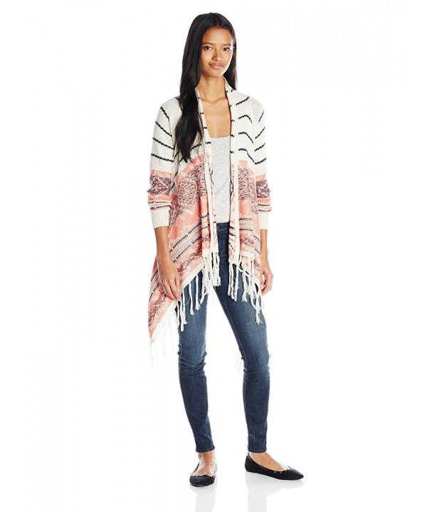 Jolt Juniors Sleeve Striped Sweater