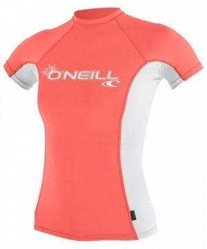 ONeill Womens Sleeve Grapefruit X Large