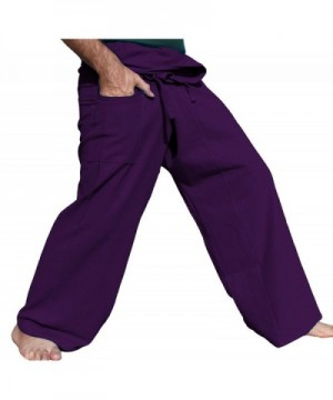 RaanPahMuang Brand Cotton Fisherman Purple