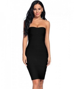 iFashion Womens Strapless Bodycon Bandage