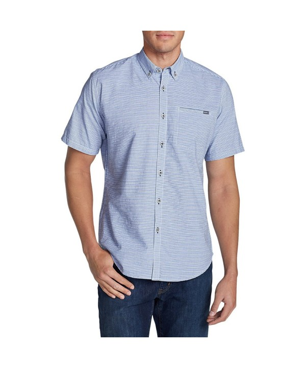 Eddie Bauer Bainbridge Short Sleeve Seersucker