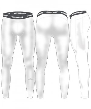COOLOMG Compression Running Leggings X Large