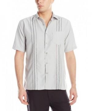 Havanera Short Sleeve Embroidered Medium