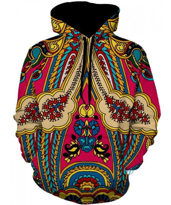 Zuckerfan Pullover Printed Drawstring Sweatshirts