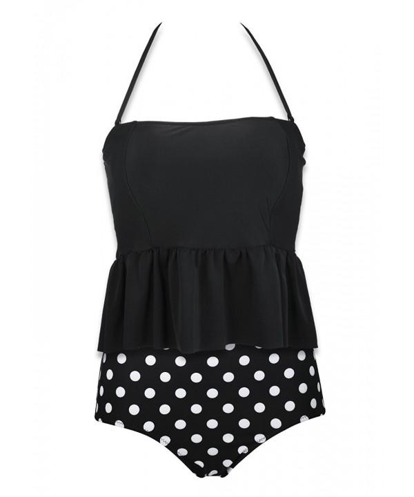 BANDEA Womens Tankini Swimsuit Swimwear