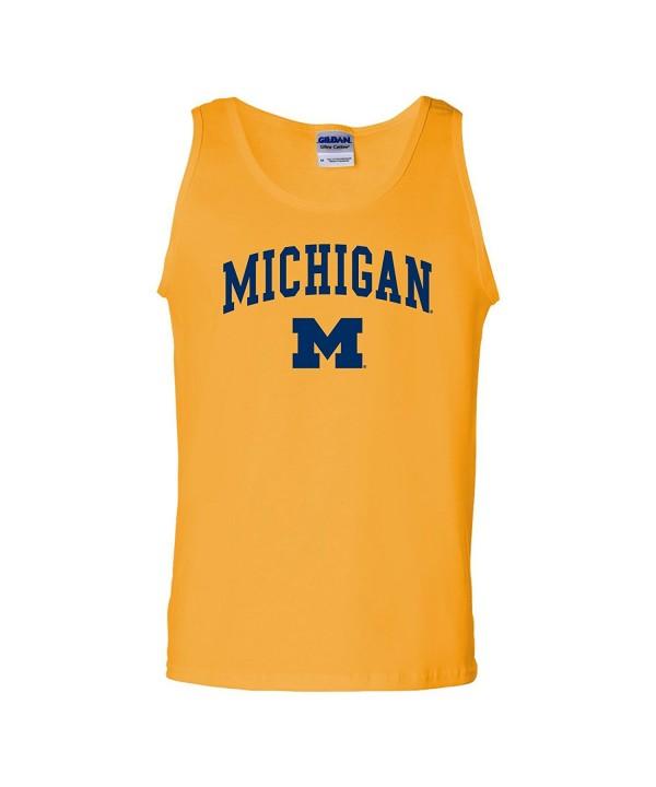 Michigan Wolverines Arch Logo Mens