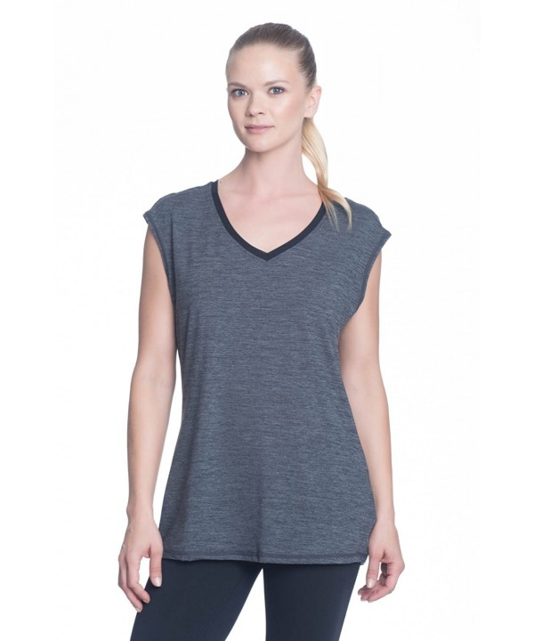 Gaiam Womens Sleeve Workout T Shirt