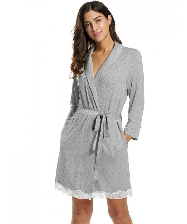 Hufcor Bathrobe Quarter Comfort Sleepwear
