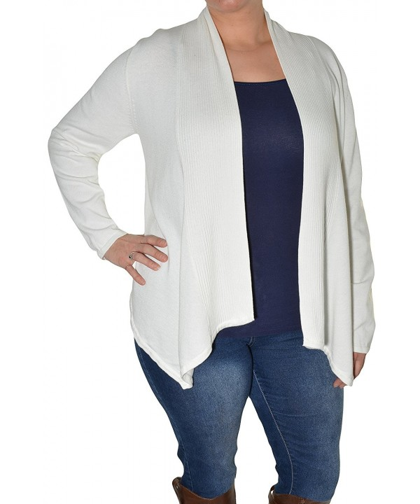 Fever Away Cardigan Ivory X Large
