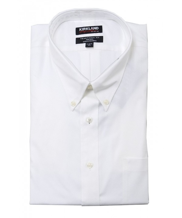 Kirkland Signature Traditional Button Collar